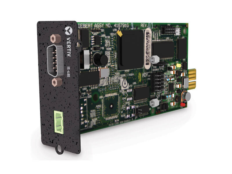 Walick Kemp & Associates Liebert® IntelliSlot™ 485 and Building Management System Interface Cards