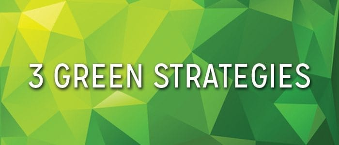 data center efficiency, 3 green strategies